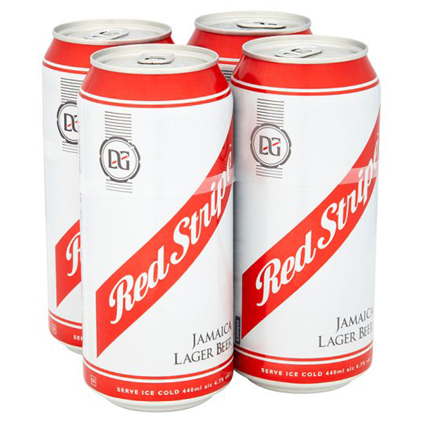 Red Stripe Jamaican Lager Beer